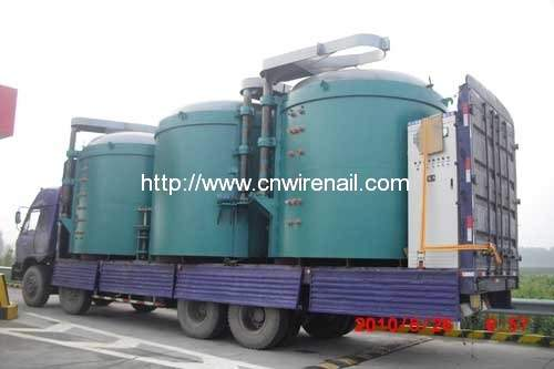 Pit Type Heat Treatment Furnace for Concrete Nail Making