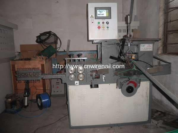 CNC Control Galvanized Wire Hunger Making Machine