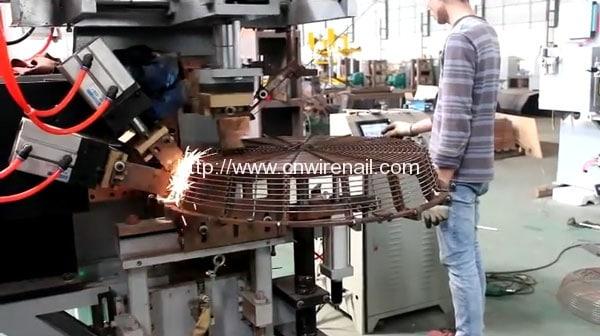 Industrial Fan Guard Making Machine Nail Machine Nail