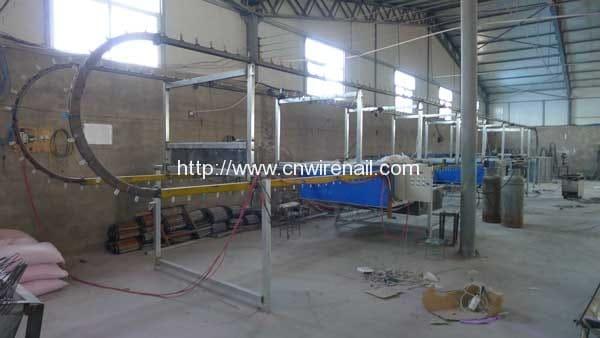 PVC Wire Hanger Coating Machine
