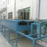 Wire Hanger Seamless PE Powder Coating Machine