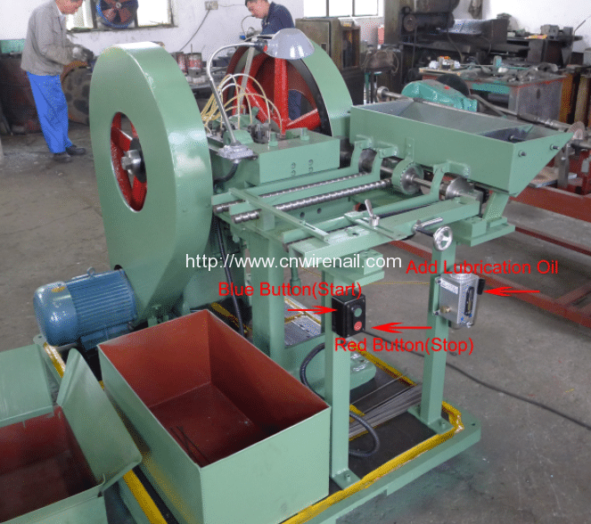 Manual-Book-of-Automatic-Steel-Wire-Rod-Head-Hammer-Rivet-Making-Machine-Function Button