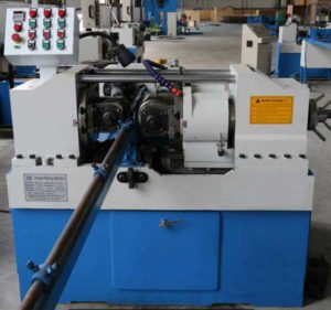 Automatic Long Steel Rod Threading Machine