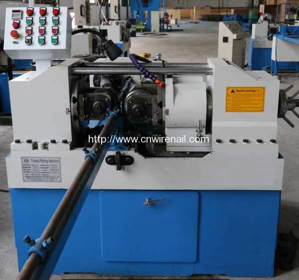 Automatic Long Steel Rod Threading Machine Nail Machine