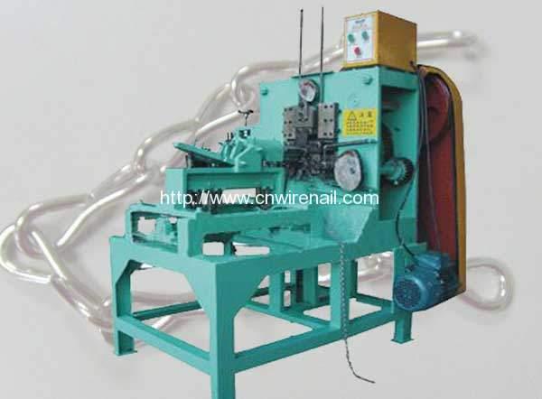Single Jack Hook Chain Link Bending Making Machine for Sale