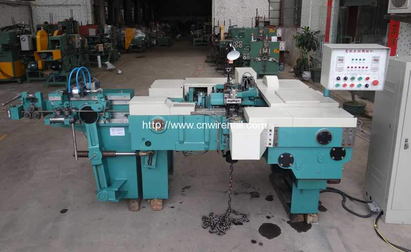 Automatic Horizontal Short Length Ring Chain Bending Forming Machine