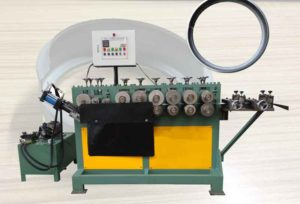 Automatic Bucket Hoop Ring Forming Making Machine Nail