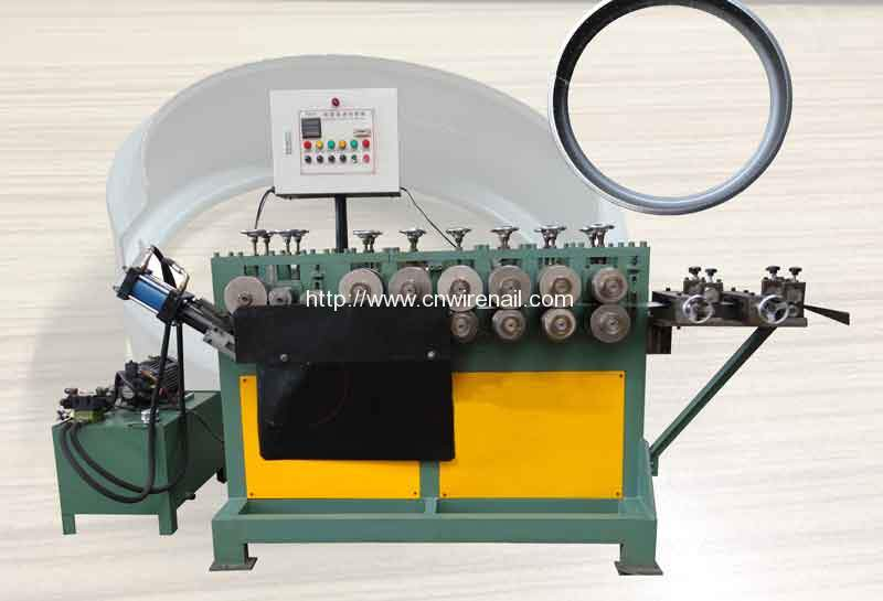 Automatic Groove Hoop Making Machine For Sale Nail